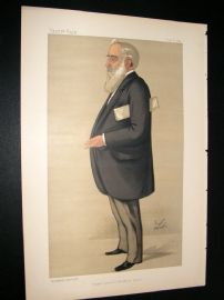 Vanity Fair Print 1890 Howard John Kennard